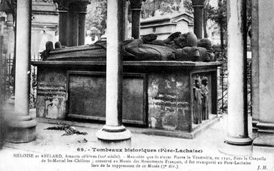 Tomb of Heloise and Abelard, Paris image