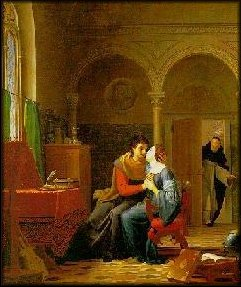 Abelard and Heloise painting