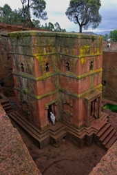 St George Church, Bet Giorgis, Ethiopia image