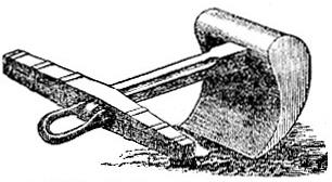 Cast-iron Mooring Anchor image