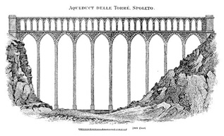 Aqueduct delle Torre, Spoleto (Italy) image