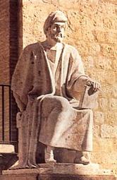 Averroes (ibn-Rushd) statue