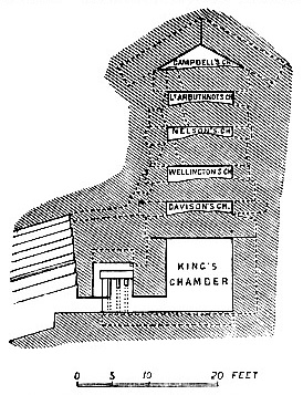 Section of the Great Pyramid image