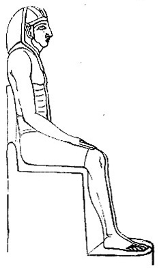 Sitting Figure of Memnon image