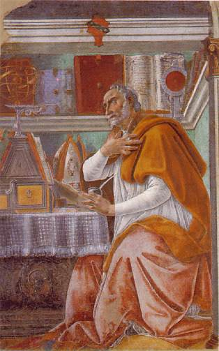 St Augustine of Hippo, early Christian leader and writer (354-430 AD)