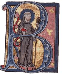 St Bernard of Clairvaux image