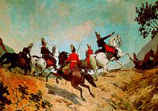 Bolivar at the Battle of Carabobo (image)