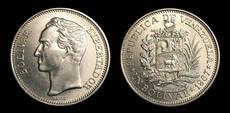 Bolivar coin (image)