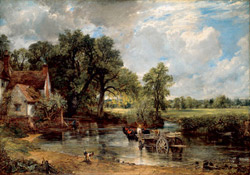 The Hay Wain by John Constable image