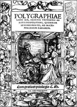 Polygraphia by Johannes Trithemius image