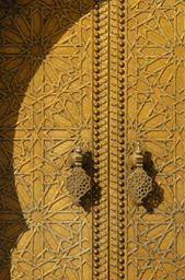 Golden Gate, Fez, Morocco image