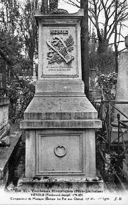 Tomb of Ferdinand Hérold image