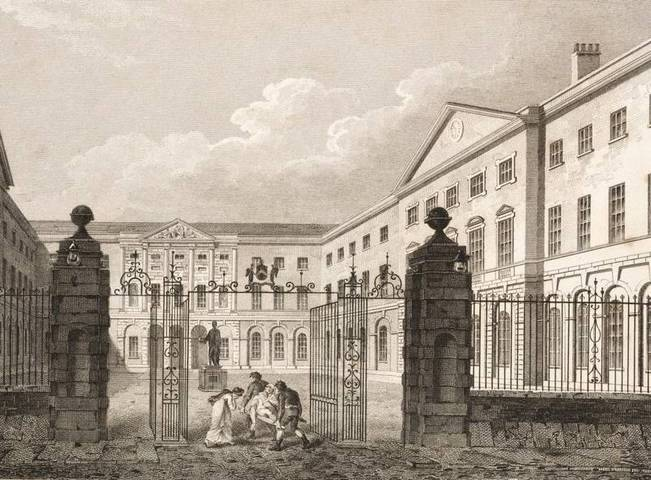 Guy's Hospital, London, 1820 - image