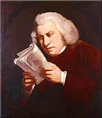 Samuel Johnson painting