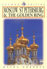 Moscow St Peters Golden Ring book cover