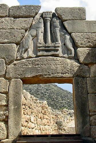 Lion Gate, Mycenae image