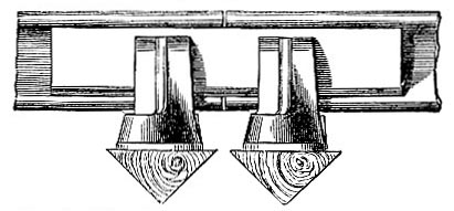 Original fish-tail joint by W. Bridges Adams (images)