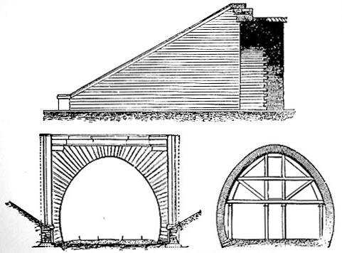 Tunnel under Callander ridge, Edinburgh and Glasgow Railway (image)