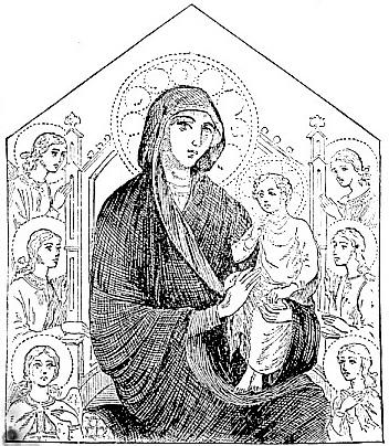 Madonna, by Cimabue