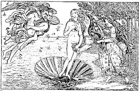 The Birth of Venus, by Botticelli