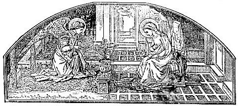The Annunciation, by Lippo Lippi