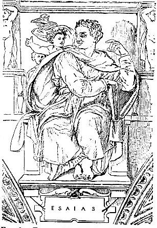Fresco of Isiah, by Michelangelo (Sistine Chapel)