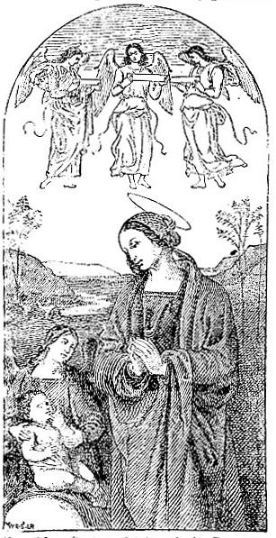 Perugino triptych (detail) (image)