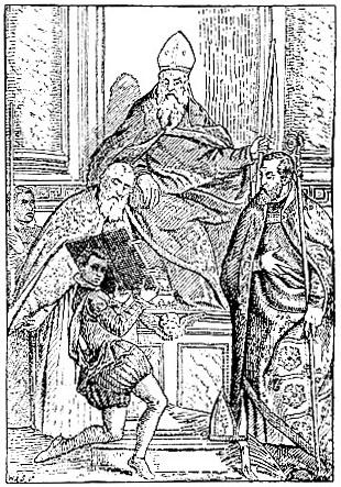 Various saints, by Paul Veronese