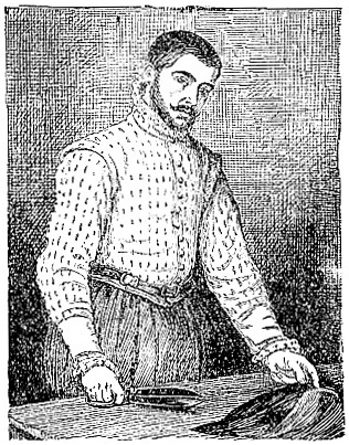 Portrait of a Tailor, by Moroni