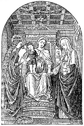 Mystic Marriage - Ambrogio Borgognone