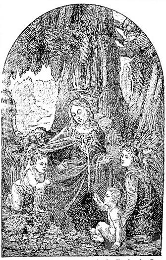 The Madonna with the Rocks, by Leonardo da Vinci