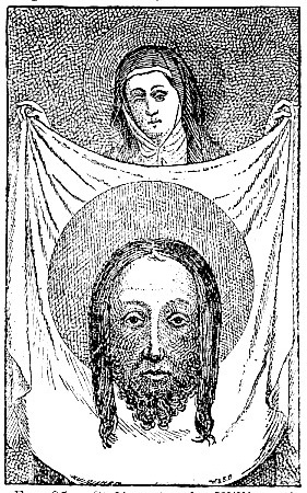 St Veronica, by William of Cologne