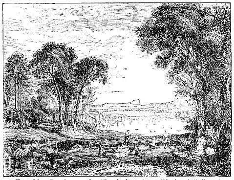 Landscape, by Claude Lorrain