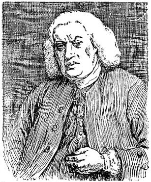 Portrait of Dr Johnson, by Sir Joshua Reynolds