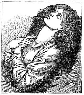 Portrait, by Dante Gabriel Rossetti