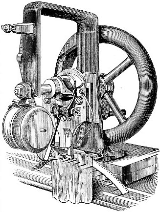 Original sewing machine of Elias Howe (image)