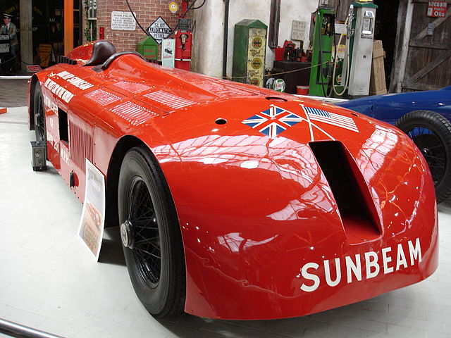 1000 HP Sunbeam Mystery motor car (image)