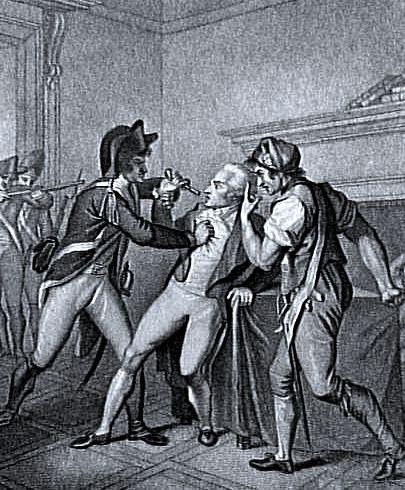 Arrest of Robespierre, July 1794 (image)