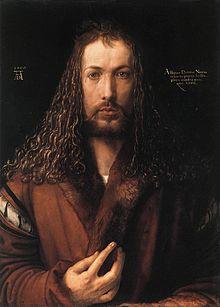 Self-Portrait (1500) by Albrecht Durer (image)