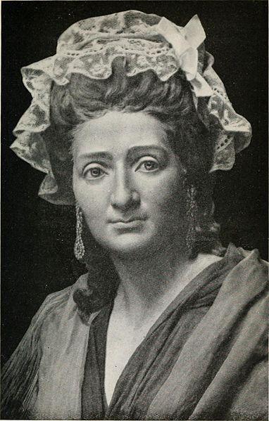 Madame Tussaud aged 42 (image)