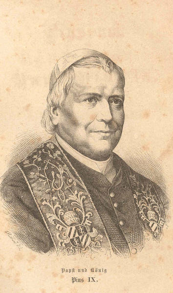 Pius IX, Pope and King (image)