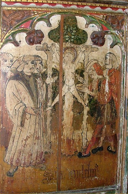 The crucifixion of William of Norwich (image)